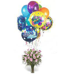 A Warm Happy Birthday Flowers