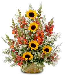 Country Splendor Fall Basket