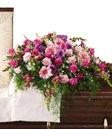Funeral Casket Cover - Medium