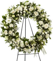 A Heartfelt Life Standing Wreath