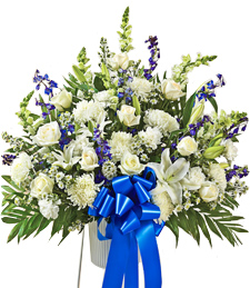Fresh Ocean Breeze Sympathy Basket